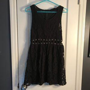 🖤Black Lace Dress With Cutout 🖤